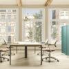 Controllo dell'acustica con mobili per ufficio e design del posto di lavoro pannelli fonoassorbenti